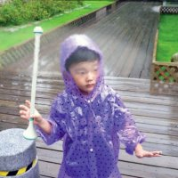 Invisible umbrella repels raindrops with...
