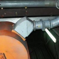 Damp en stof afzuiging in een gieterij